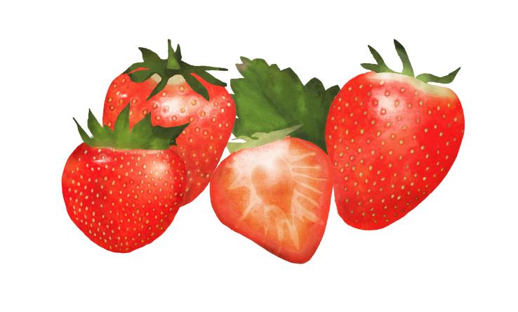 Strawberries, Waitrose