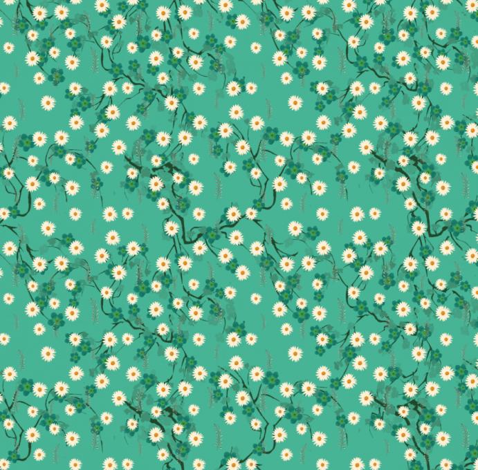 Daisy Pattern Design