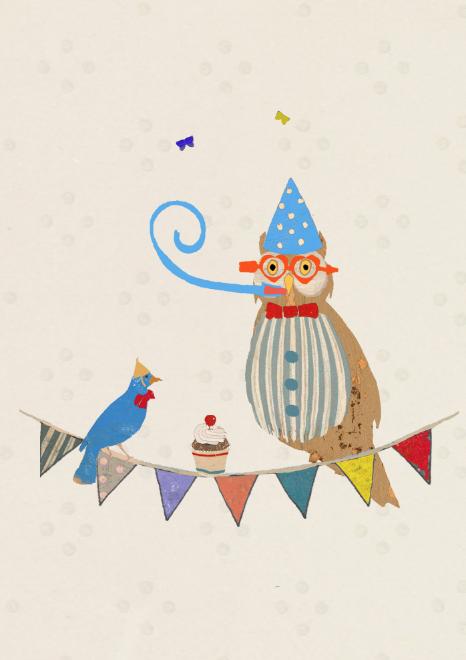 Lagom Party Owl