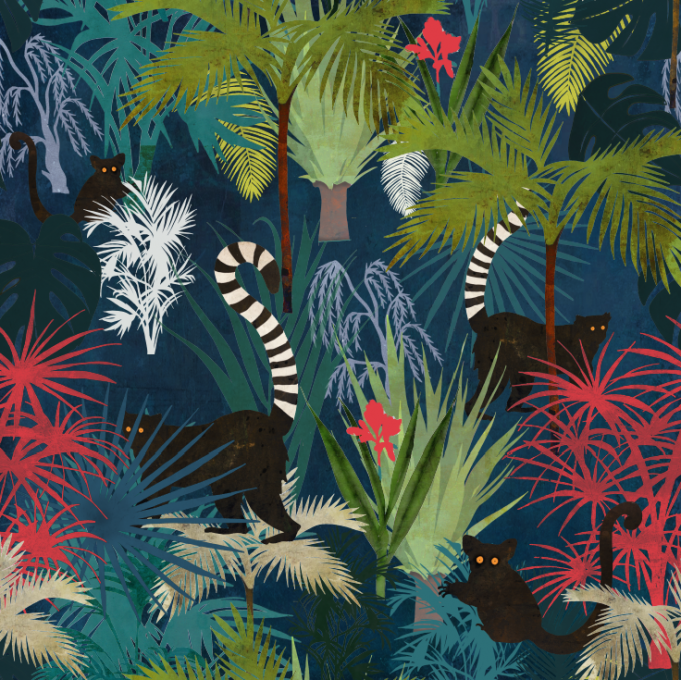 Jungle Peepers design