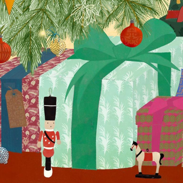 Waitrose Weekend Christmas cover