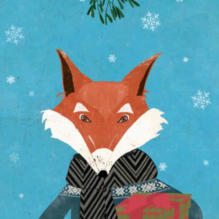Christmas Fox for Lagom